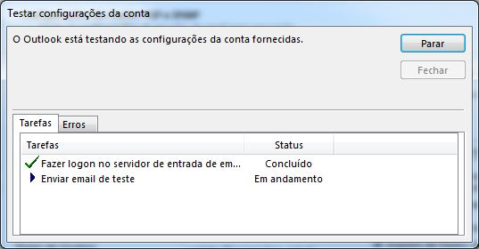Configurando email no Microsoft Office Outlook 2013 - Tela 10
